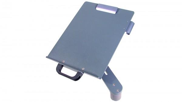 Schreibplatte A4 ,Schwenkarm, Papierklemme, Stifthalter