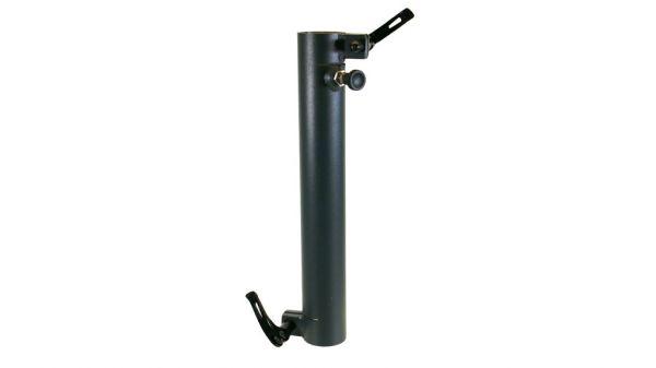 Standrohr 350 mm, gerade, 2 Exzenterhebel und Rastbolzen