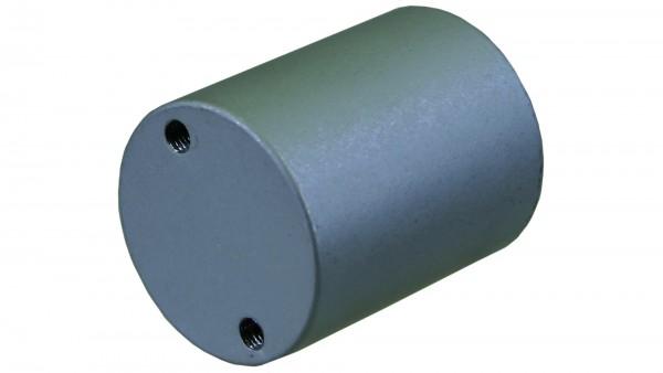 Gelenkzapfen 50 mm Alu eloxiert ohne Gleitmuffe