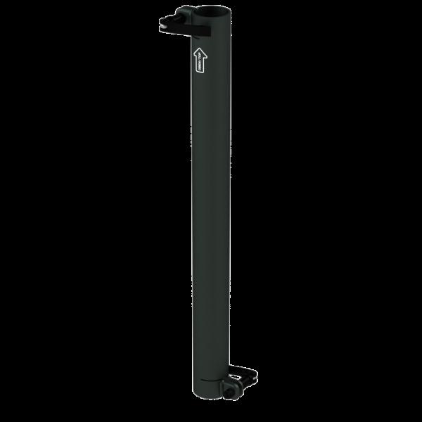 Standrohr 550 mm, gerade, 2 Exzenterhebel