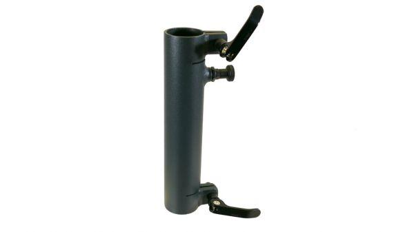 Standrohr 250 mm, gerade, mit 2 Exzenterhebeln und Rastbolzen