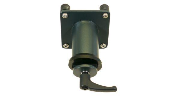Tischplatten-Adapter 15° fest, Rohrform mit Exzenterhebel